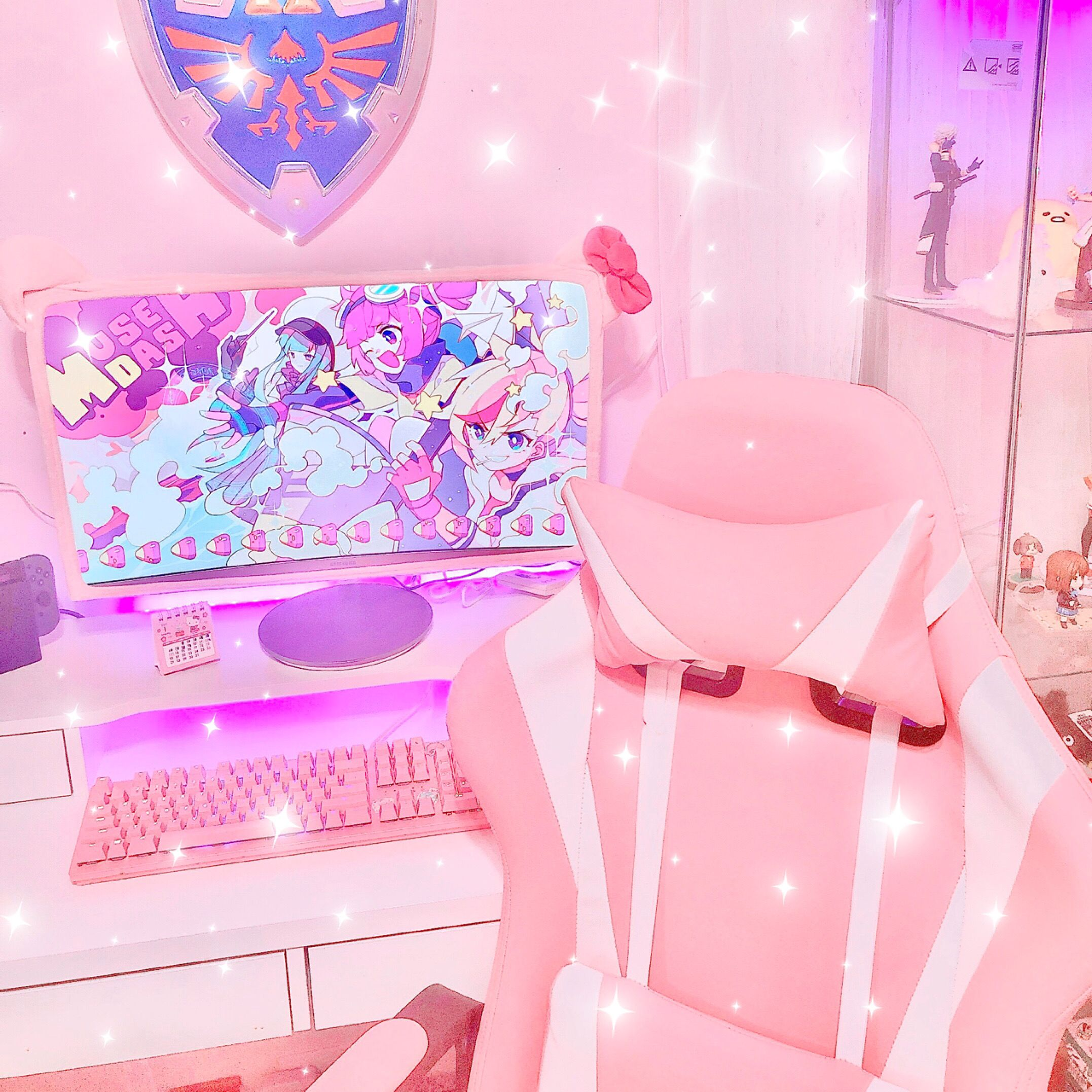 setup gaming gamingsetup gamer gamersetup girl