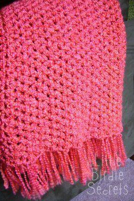 Crochet Afghan Pattern Maker : Quick Crochet Blanket on Pinterest Chunky Crochet ...