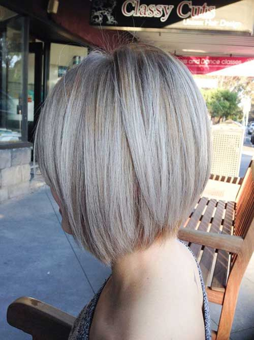 Ash Blonde Colored Bob Pics You Should See Hairy High