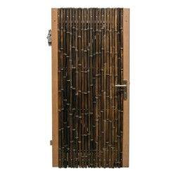 Trendline Zwarte Bamboe Poortdeur