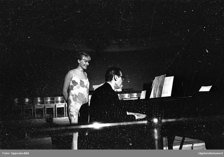 Monica Zetterlund and Bill Evans perform in Uppsala University's ...