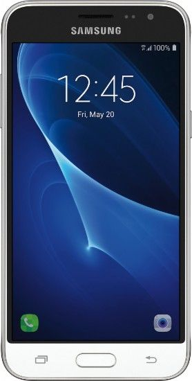 Samsung Galaxy J3 2016 4g Lte With 16gb Memory Cell Phone Unlocked White Front Zoom Cell Phones For Seniors Samsung Samsung Galaxy