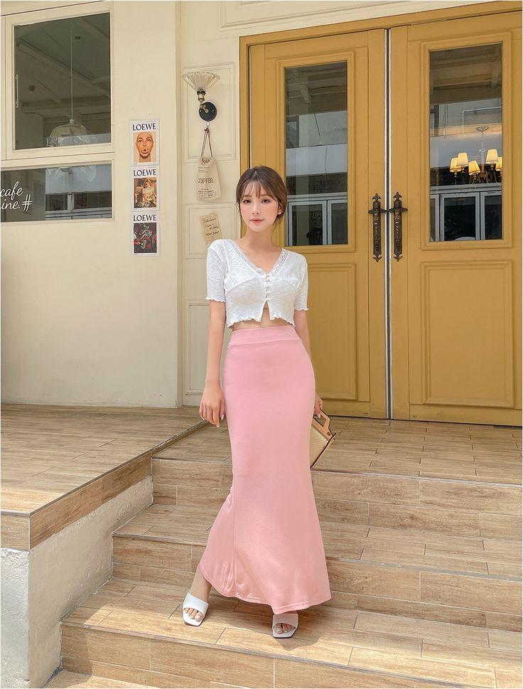 All Bamboo Mermaid Skirt