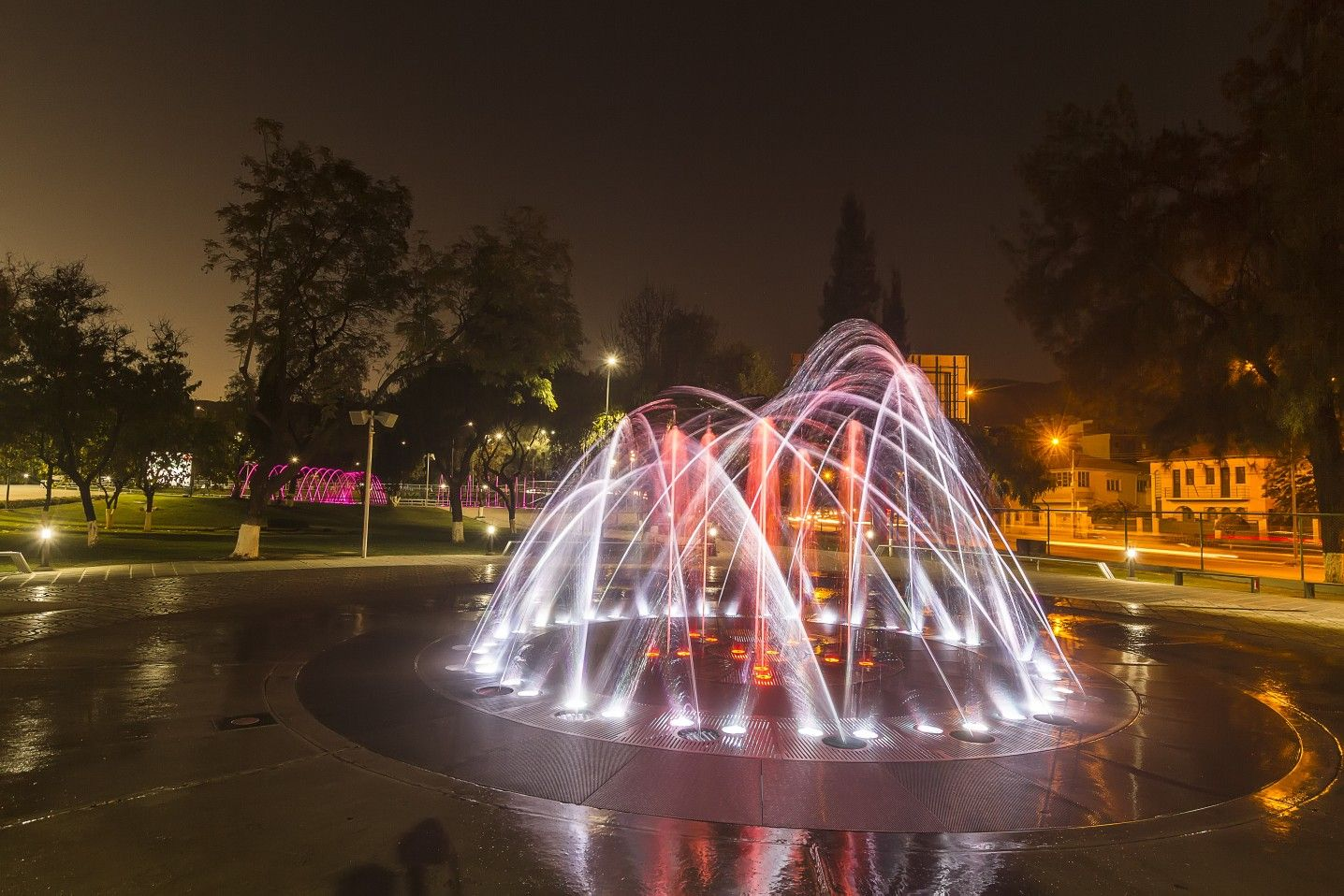 Parque De Aguas Danzantes Cochabamba Foto Dirección De Turismo Del Municipio Gamc