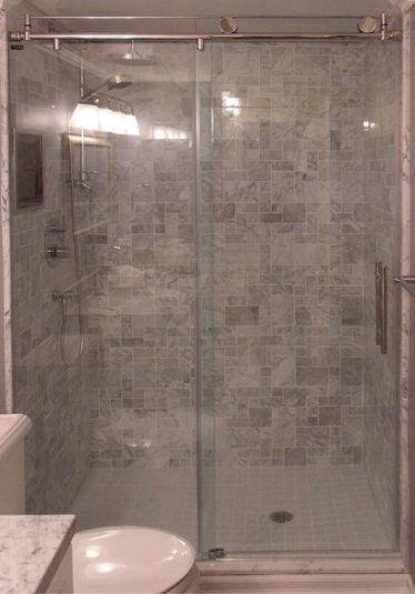 Shower Door Corner Roller Door Doorsandmore Ca Glass Shower