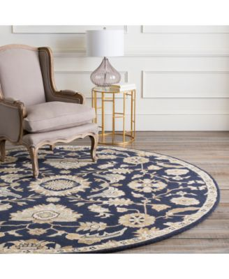 Surya Caesar Cae 1164 Ink 3 X 12 Runner Area Rug Blue Products