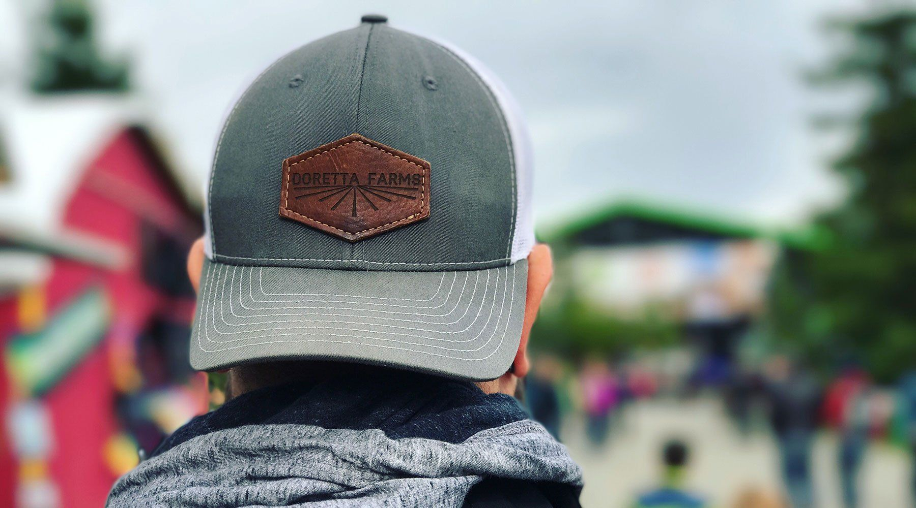 f97babb0547c1 Custom Leather Patch Hats crafted with the finest of full grain American  Leathers. We put your logo onto our Richardson 112 Trucker Style hats.