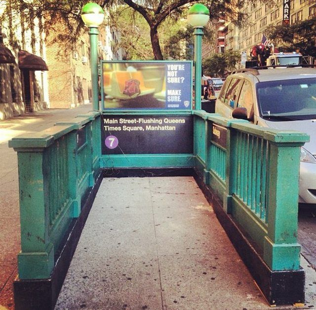 a fake 7 line subway setup in hells kitchen nyc part of filming for law order svu america from maine to mexico in 1001 images pinterest - Where Is Hells Kitchen Filmed
