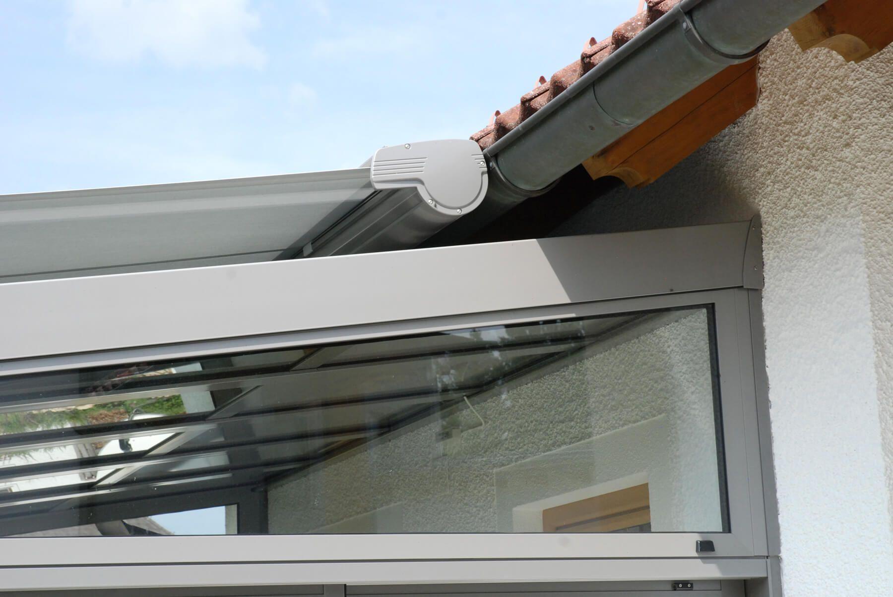 aluminium sommergarten detail dachanschluss - Wintergartendesigns