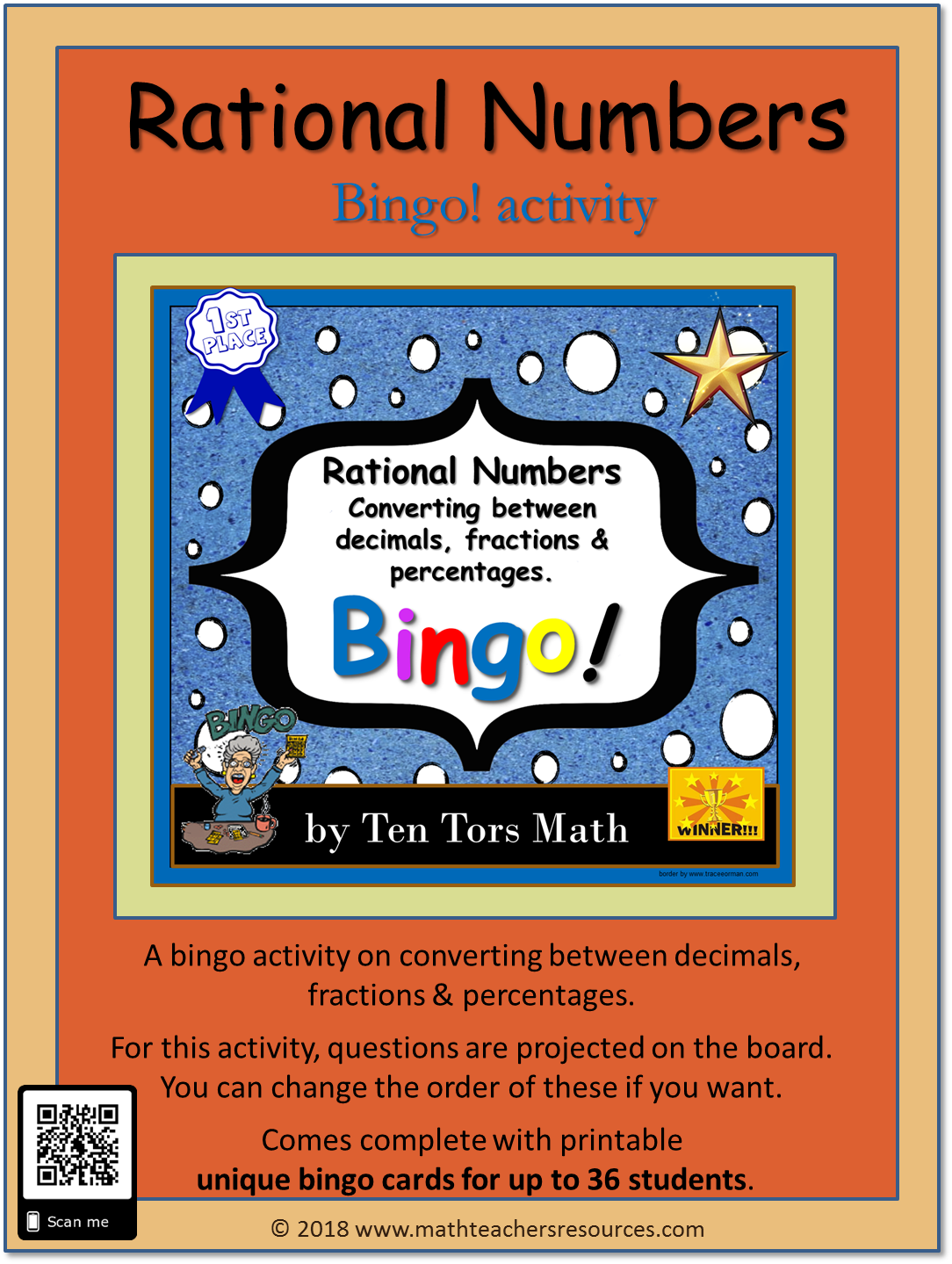 Rational Numbers Activity