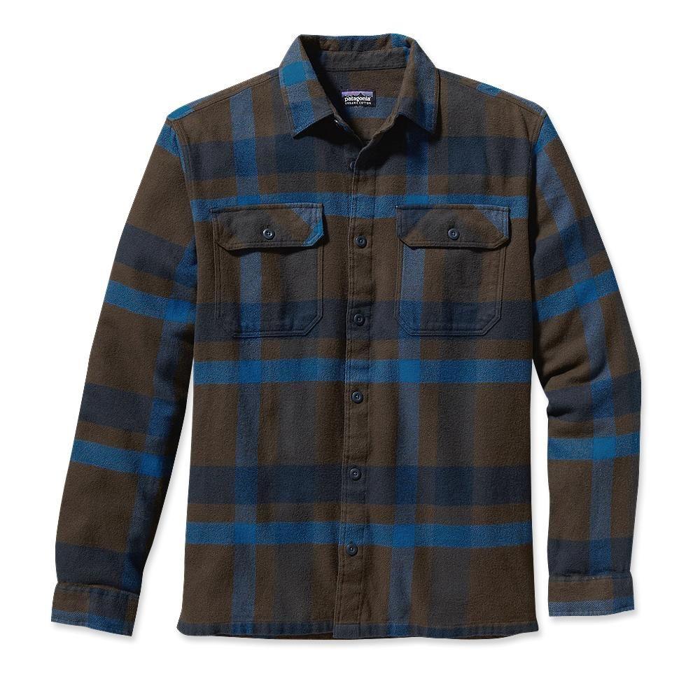 Men 39 S Long Sleeved Fjord Flannel Shirt Man Style