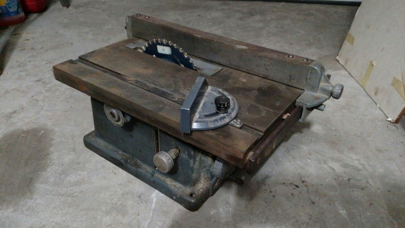 Vintage Craftsman Table Saw Craftsman Table Saw Woodworking
