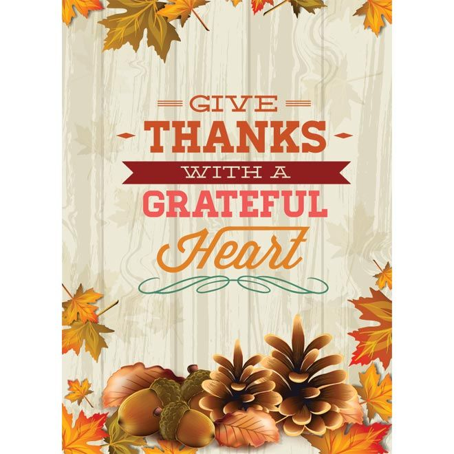 Free vector Thanks with a Grateful Heart vintage Happy ...