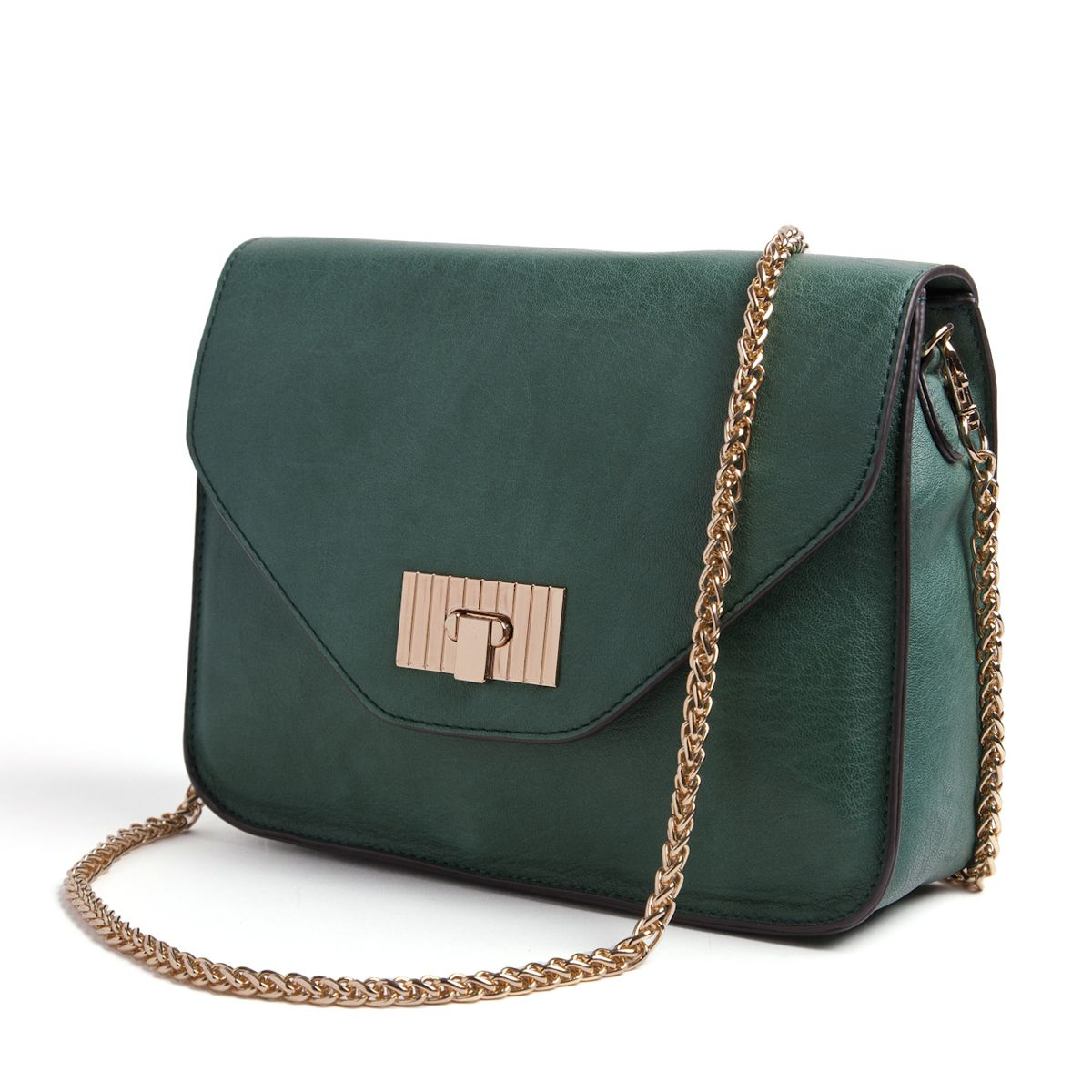 Golden Lock Shoulder Bag by Mayfair. This is adorable