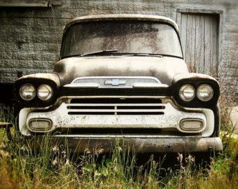 Old Truck, Vintage Truck, Chevy Truck, Retro, Home Decor, Vintage,