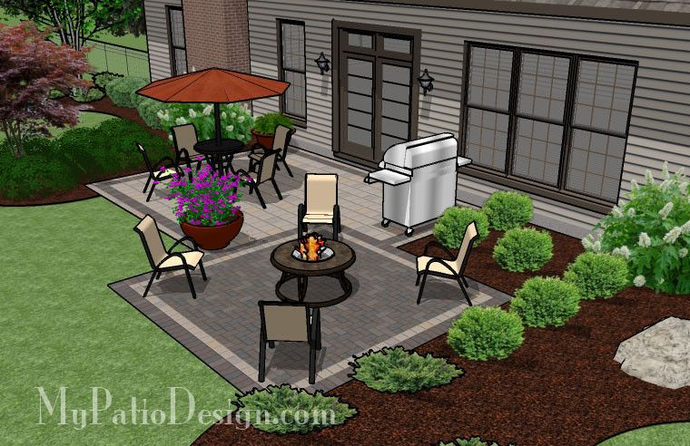 Marvelous Our Downloadable Design For This Simple And Affordable Brick Patio Will  Guide You Through A Seamless