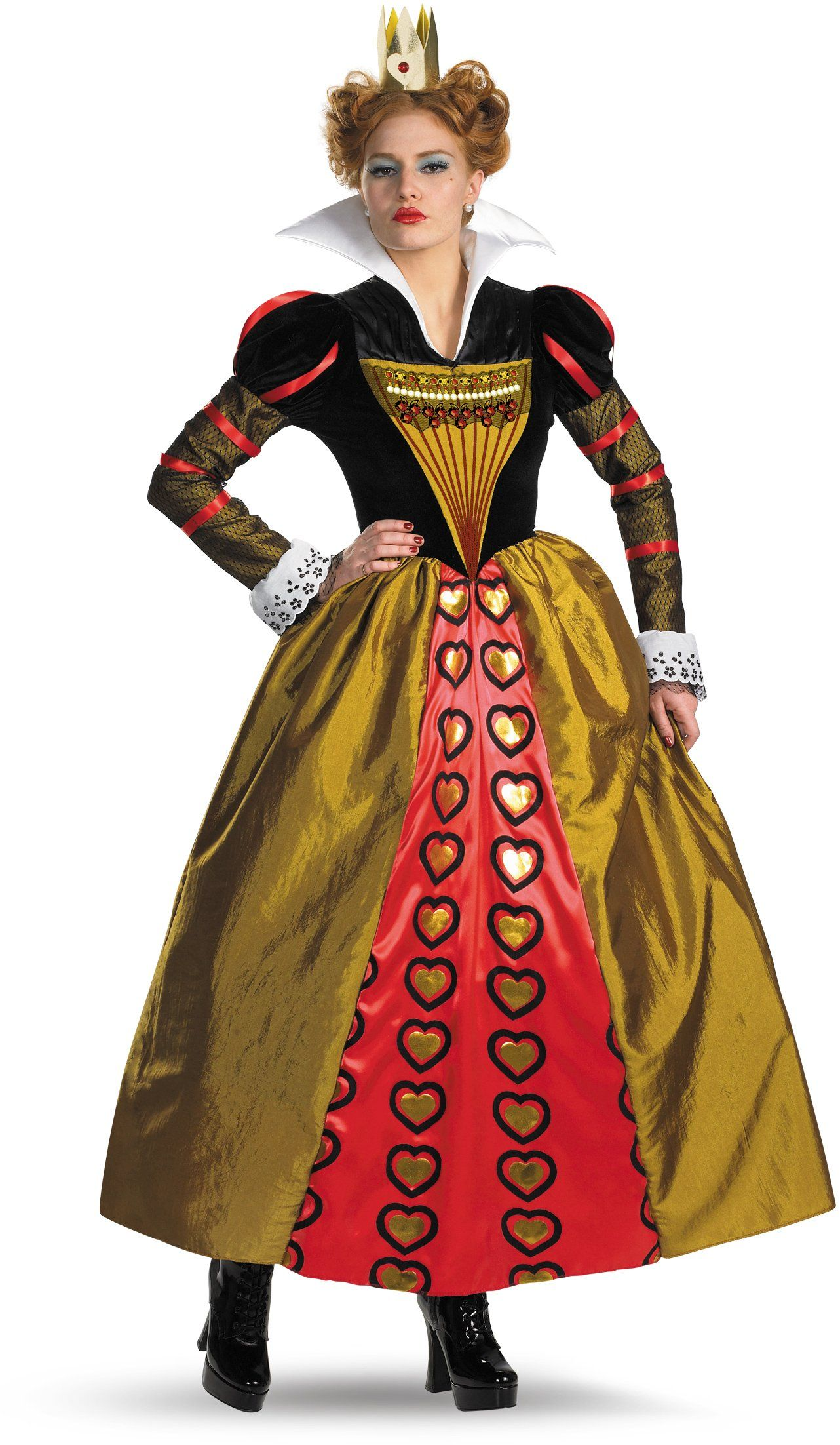 Alice In Wonderland Movie Deluxe Red Queen Adult Costume from  Buycostumes.com