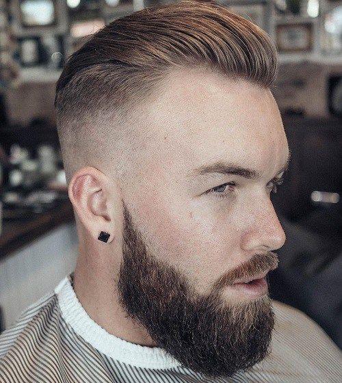 Short Slicked Back Haircut