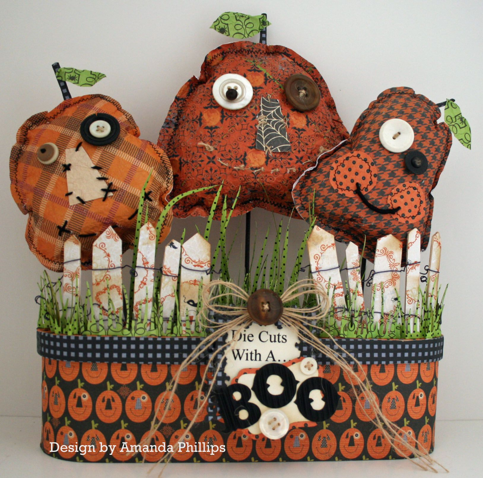 DCWV The Halloween and Fall Stack Sneeky, spooky, sparkly fun - fall and halloween decorations