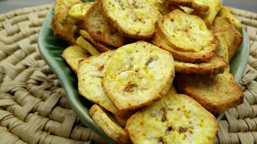 Banana Chips Recipe With Philips Airfryer Banana chips