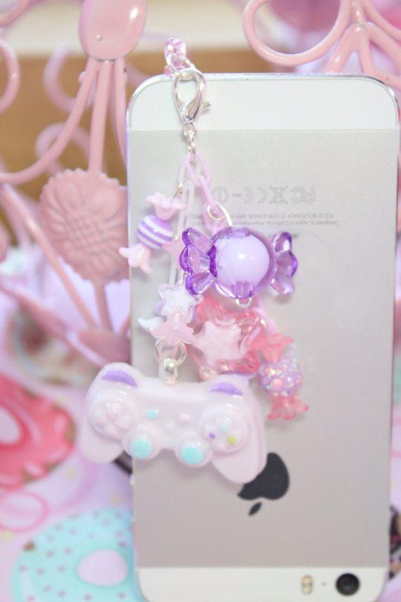 Fairy Kei Juego Controlador Auriculares Jack Por Kittywooddesigns