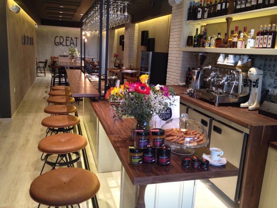 Gr.eat delicatessen cafe bar Thessaloniki Greece!!