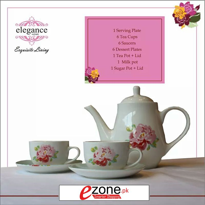 Buy 24 Piece Tea Set