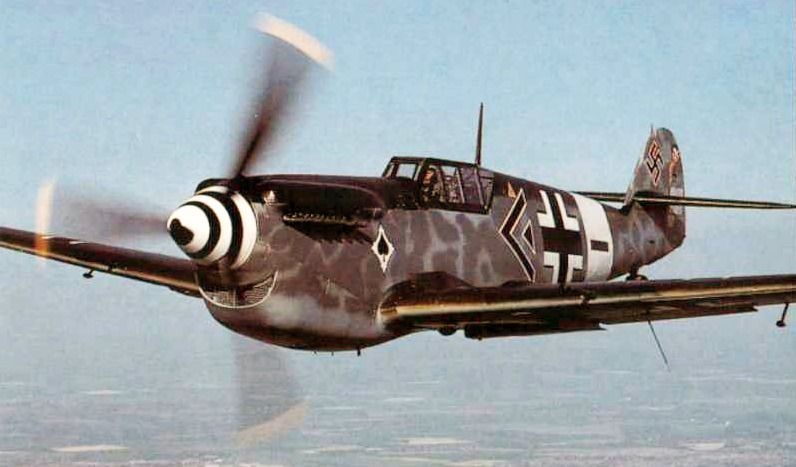 Another pic of an Hispano Aviacion HA-1112 , this one from 1943.