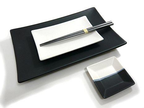 MySushiSet Slate Blue Sushi Set for Two Sushi Set Made In Japan