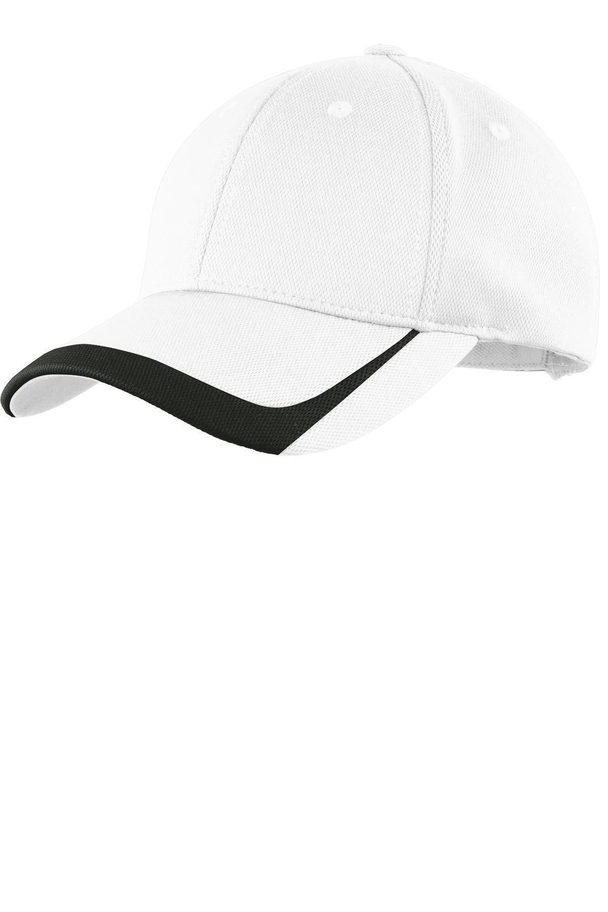 STC24 Sport-Tek Adult New Low Profile Hook Loop Colorblock Baseball Cap