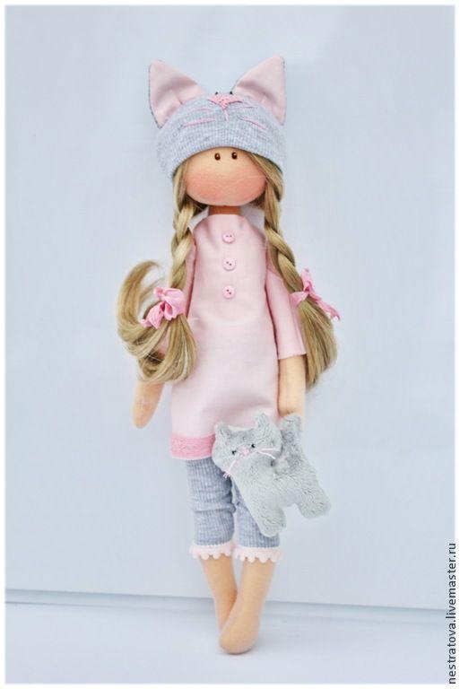 Коллекционные куклы ручной работы. Ярмарка Мастеров - ручная работа Katty. Интерьерная кукла.. Handmade.