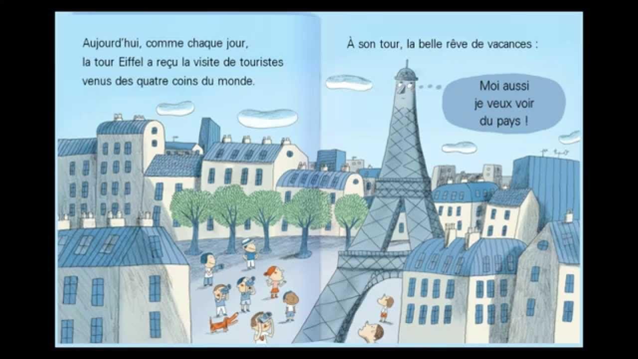 la tour eiffel a des ailes histoire pour enfants dok o tv fran ais children 39 s stories. Black Bedroom Furniture Sets. Home Design Ideas