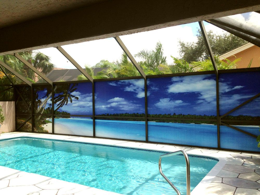 Increase Privacy And Improve Your View Would You Like A Million Dollar View A For A Price You Can Afford Private Scr Outdoor Pool Decor Backyard Pool Backyard
