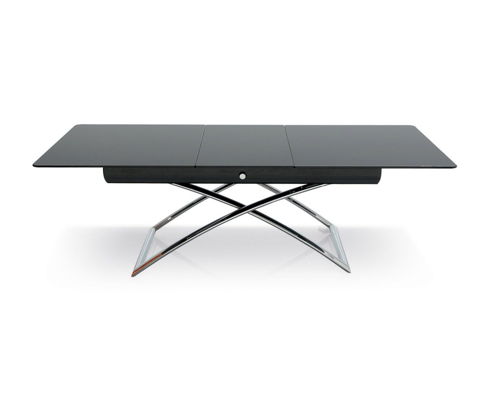 "Calligaris ""Magic J"" A versatile coffee table that can be adjusted"