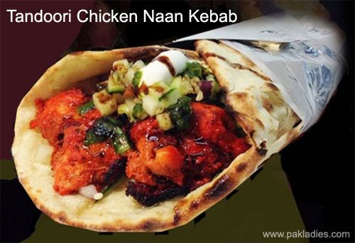 Tandoori Chicken Naan Kebab Recipe Kebab Naan Recipes