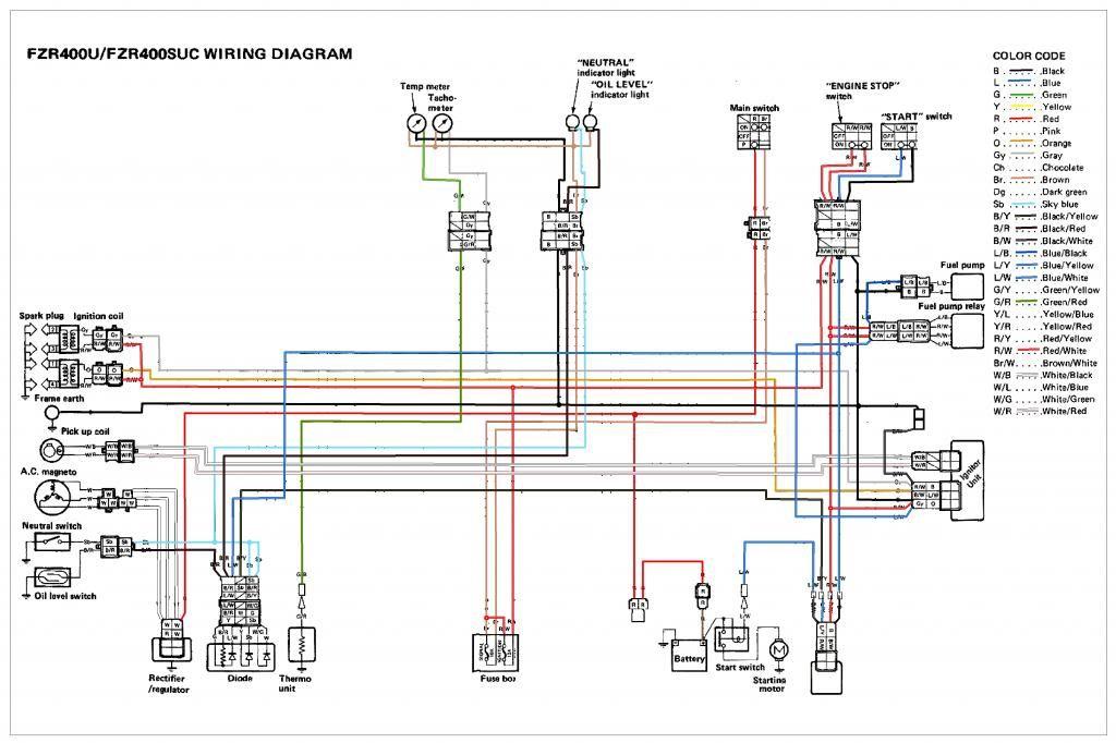 Fzr 1000 Wiring Diagram Fzr Auto Wiring Diagram Database – Dicktator Wiring Diagram