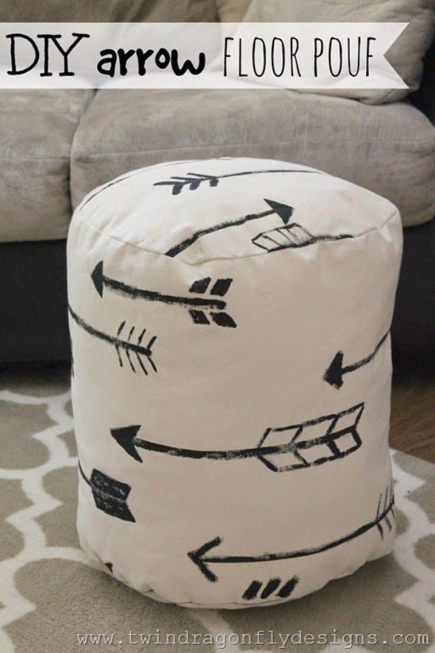 Sewing Ideas For Home Decorating Part - 17: 72 Crafty Sewing Projects For The Home