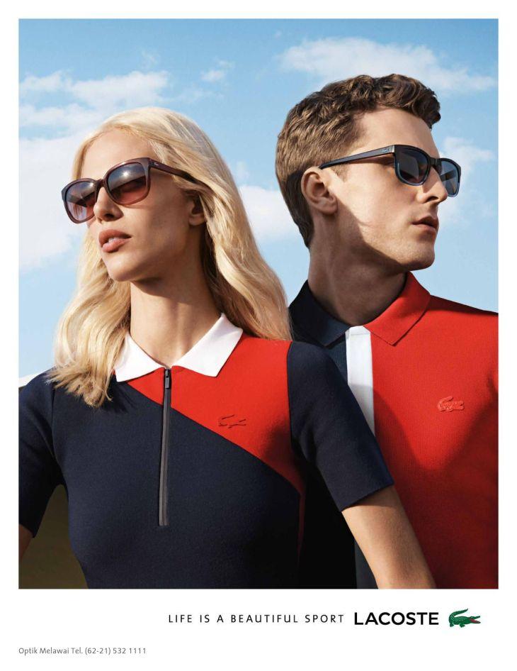 c8638738f18 Lacoste Eyewear - Spring Summer 2016 Campaign
