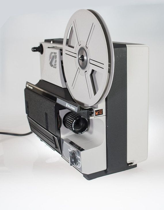 Bell & Howell Vintage Movie 8mm Film Projector Model 1638Z