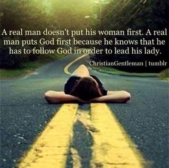 A real man.