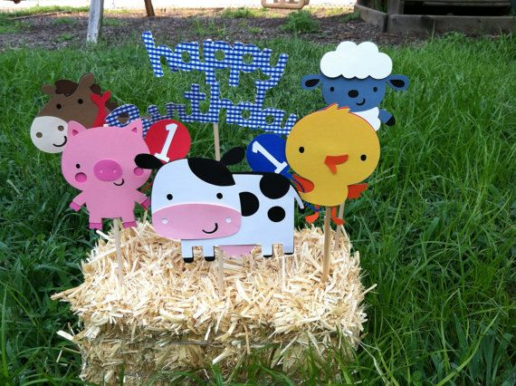 Best 25 Farm Animal Birthday Ideas On Pinterest Farm