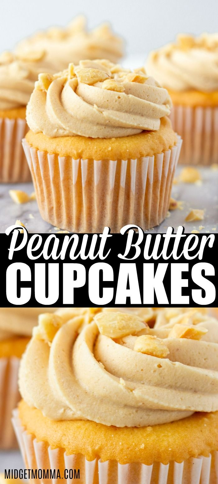 Peanut Butter Cupcakes Peanut Butter Cupcakes. These are the perfect cupcakes for true peanut butter lovers, perfectly moist and fluffy!