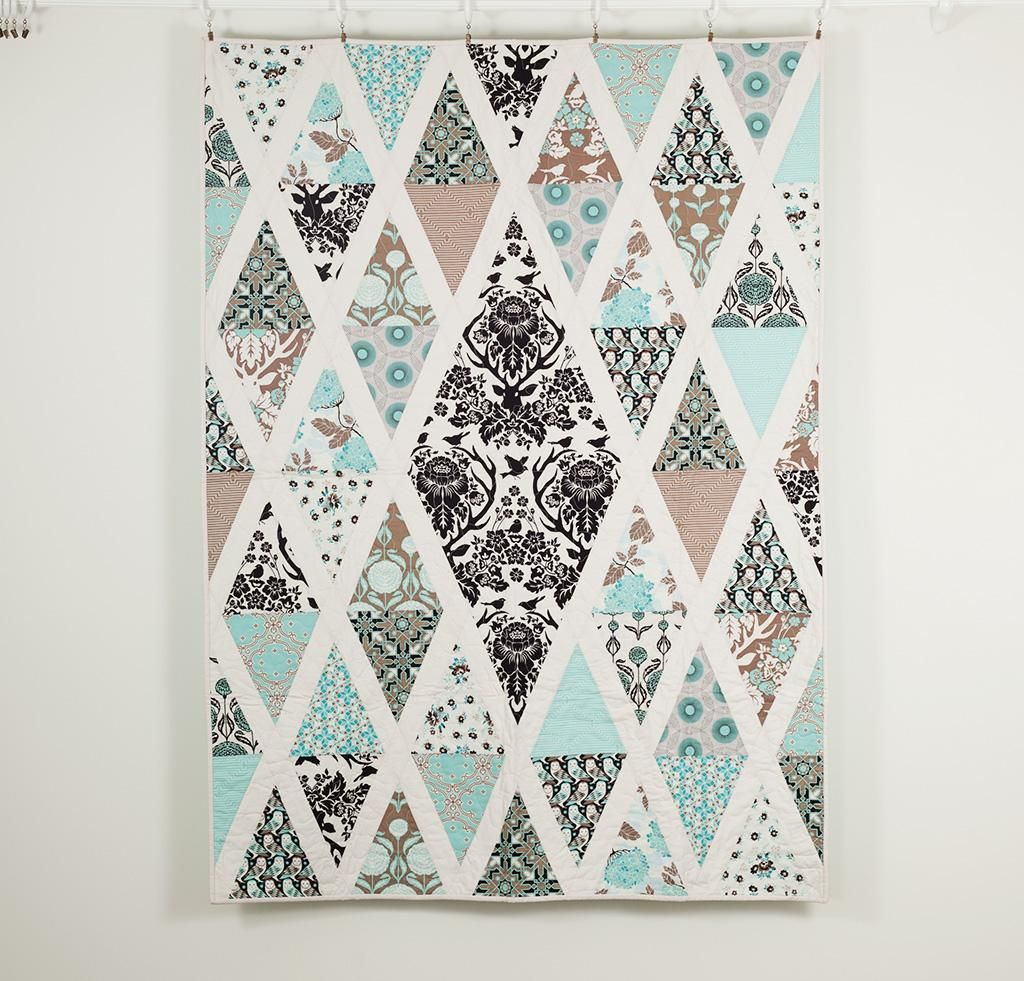 Diamond quilt patterns to dazzle diamond quilt birch and diamond diamond quilt patterns to dazzle pronofoot35fo Choice Image