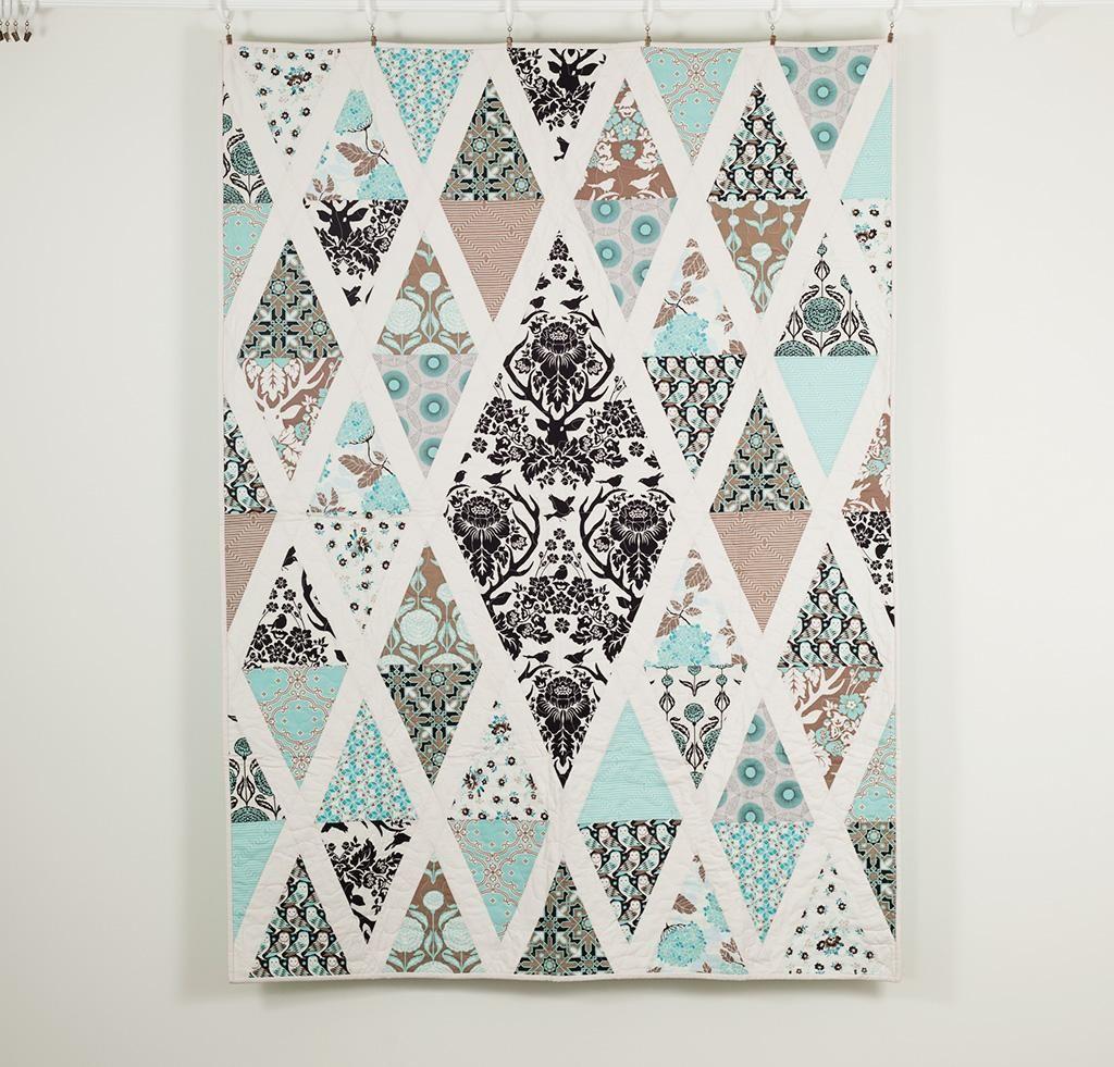 Diamond Quilt Patterns to Dazzle | Nähideen, Schnittmuster und Nähen