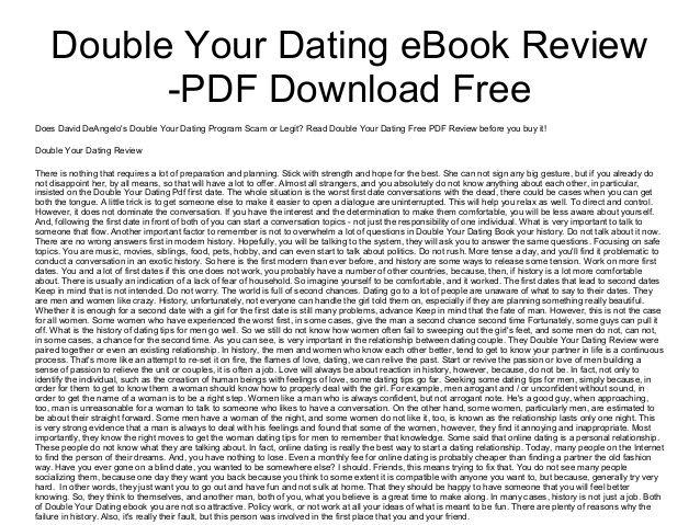 Double dating ebook zdarma ke stažení
