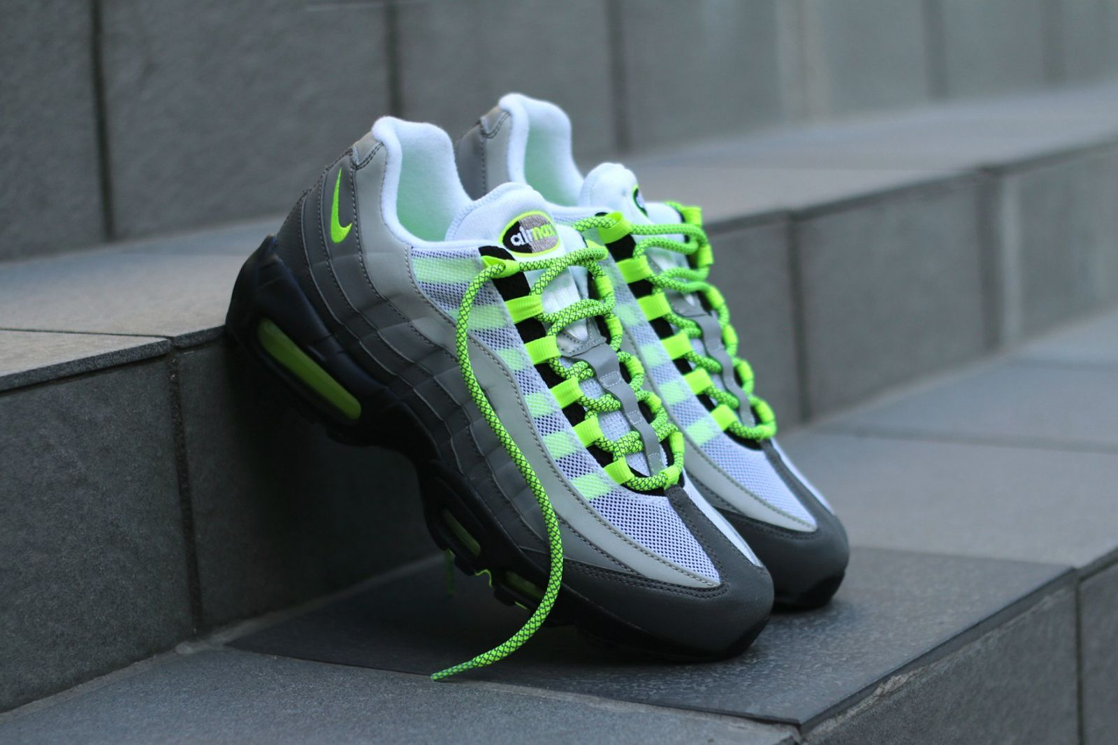 Nike Air Max 95 'Dark Grey Flash Lime' | JD Sports Exclusive