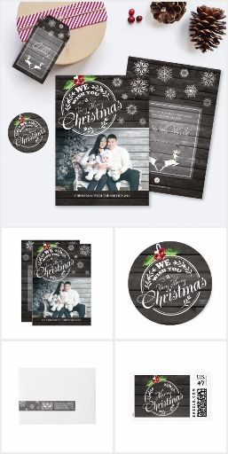 Rustic Wood Christmas Collection