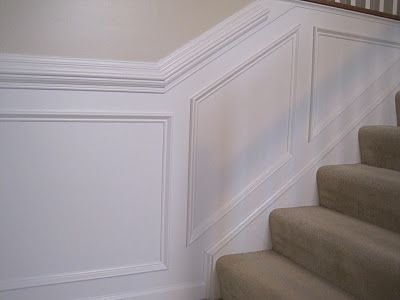 tips for chair rail & wainscoting installation | Stairway/Entryway ...