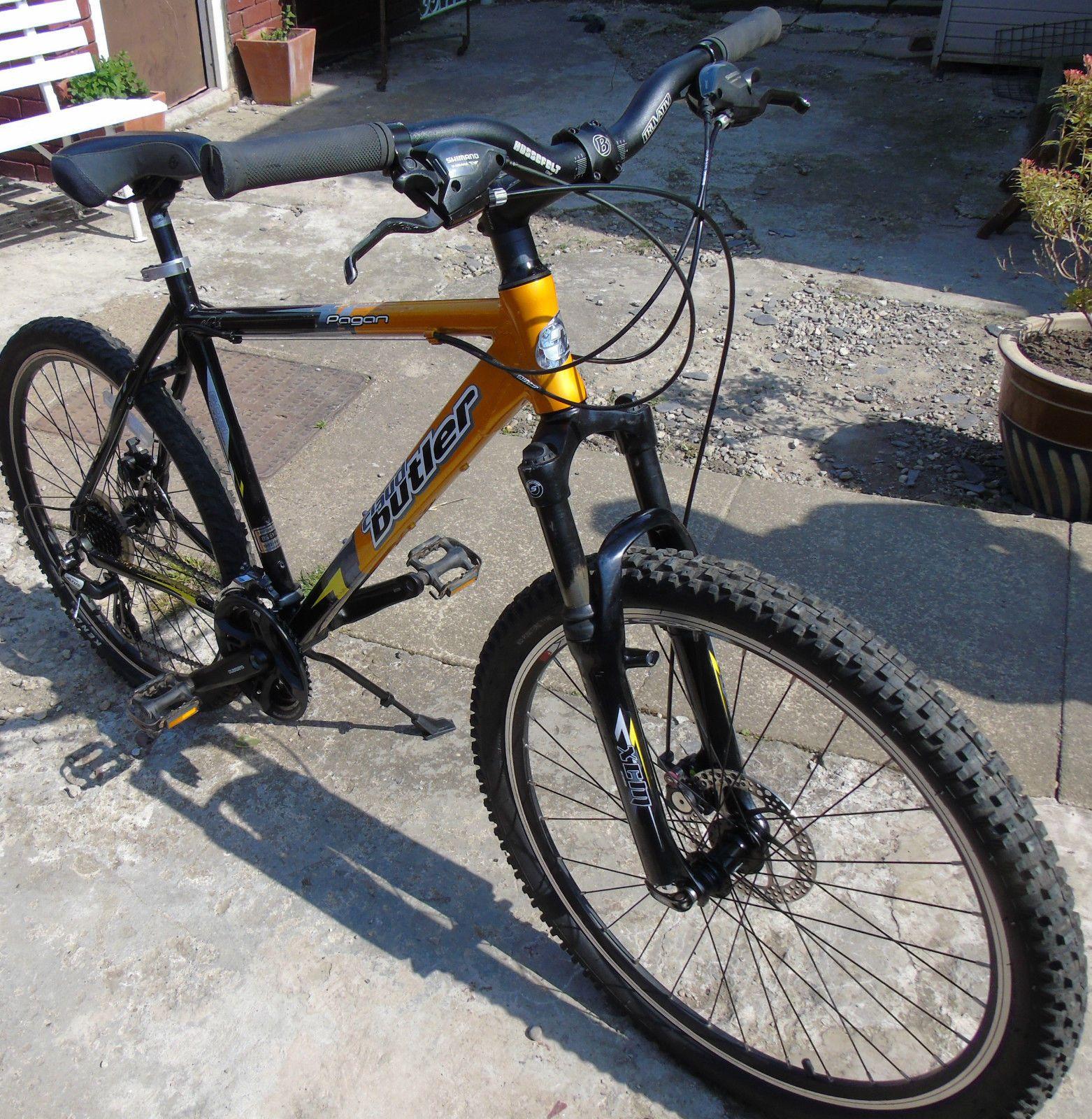 claud butler pagan mountain bike cycle 20 aluminium frame ebay
