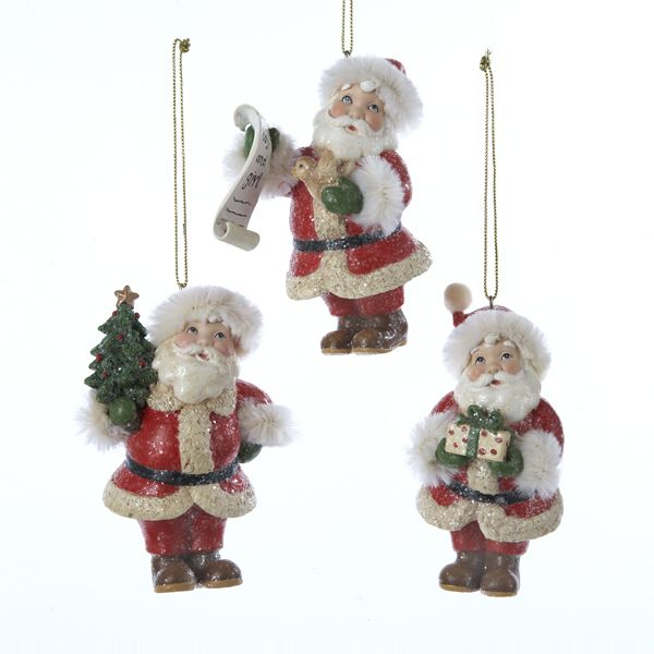 Kurt Adler Vintage Santa Ornament # C8492 - House of Holiday 2015